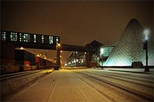 Snowy Dock Street