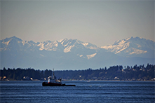 Tugboat on Puget Sound
