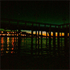 Ruston Way pier after dark